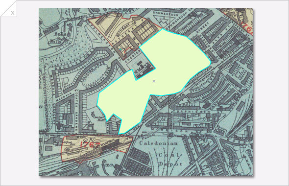Visualising Urban Geographies: Drawing lines, points or polygons in