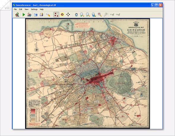 Visualising Urban Geographies: Georeferencing using QGIS